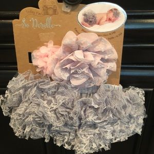 Other - Baby Girls' Diaper Cover Set